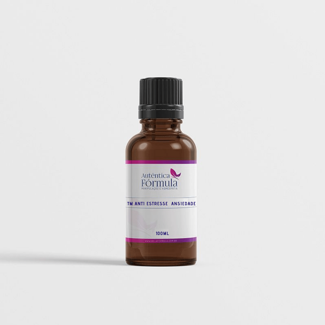 Tintura anti estresse - ansiedade - vontade de doces (100ml)